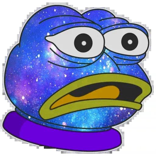Pepe Galaxy - Sticker 24
