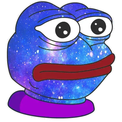Pepe Galaxy - Sticker 22