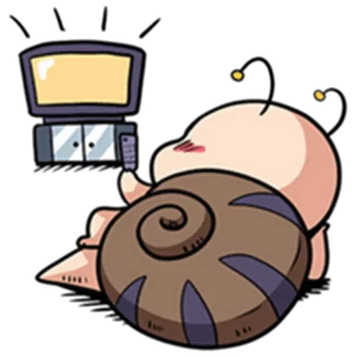 Snail 1 - Sticker 30