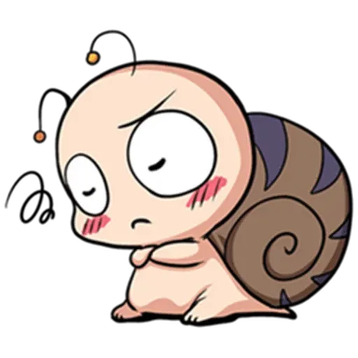 Snail 1 - Sticker 25