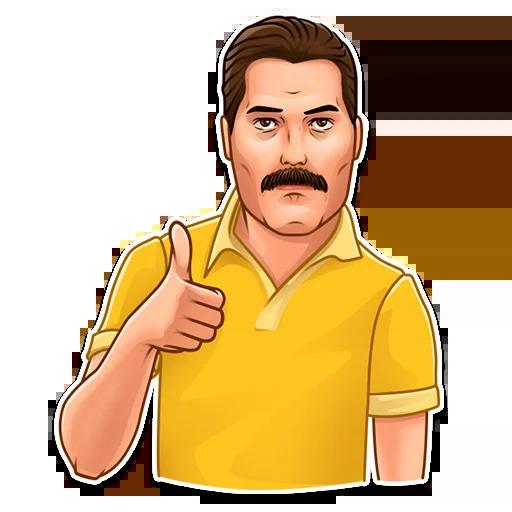 Freddie Mercury - Sticker 4