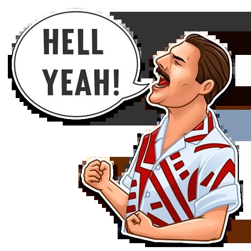 Freddie Mercury - Sticker 18