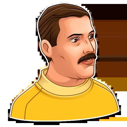 Freddie Mercury - Sticker 5
