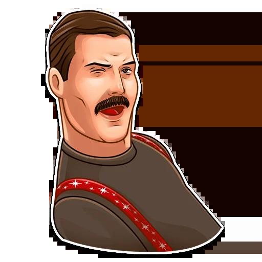 Freddie Mercury - Sticker 13