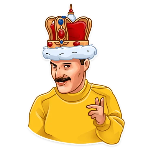 Freddie Mercury - Sticker 7
