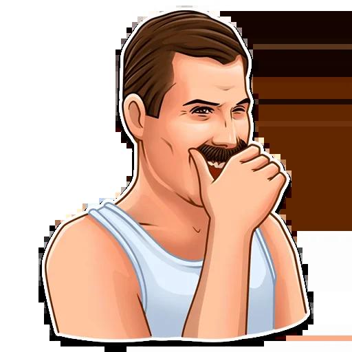 Freddie Mercury - Sticker 2
