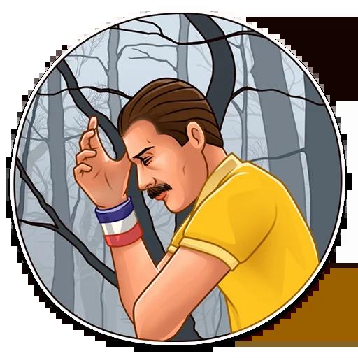 Freddie Mercury - Sticker 19