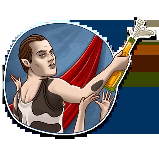 Freddie Mercury - Sticker 9