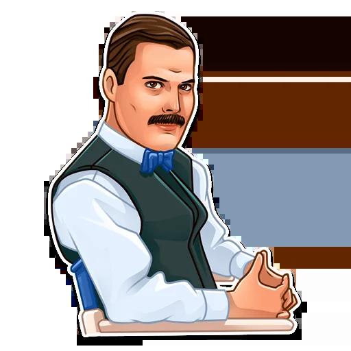 Freddie Mercury - Sticker 10