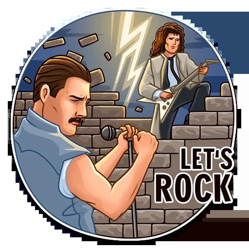 Freddie Mercury - Sticker 20