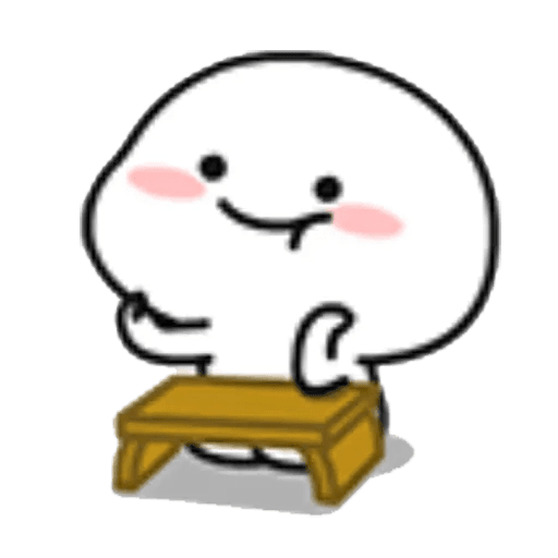 Lil bean table WhatsApp Stickers - Stickers Cloud