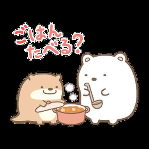 Sumikkogurashi Kawauso and Sumikko - Sticker 15