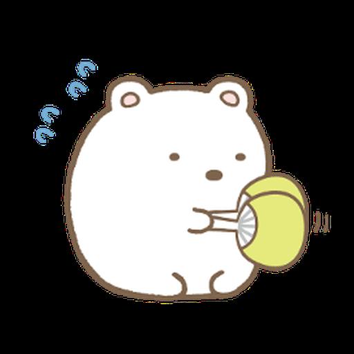 Sumikkogurashi Kawauso and Sumikko - Sticker 21