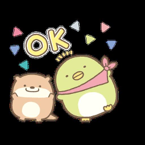 Sumikkogurashi Kawauso and Sumikko - Sticker 5