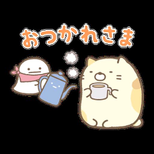 Sumikkogurashi Kawauso and Sumikko - Sticker 9