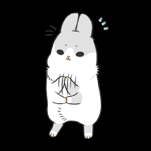 ㄇㄚˊ幾兔3 sad, sick, sorry 29 - Sticker 20