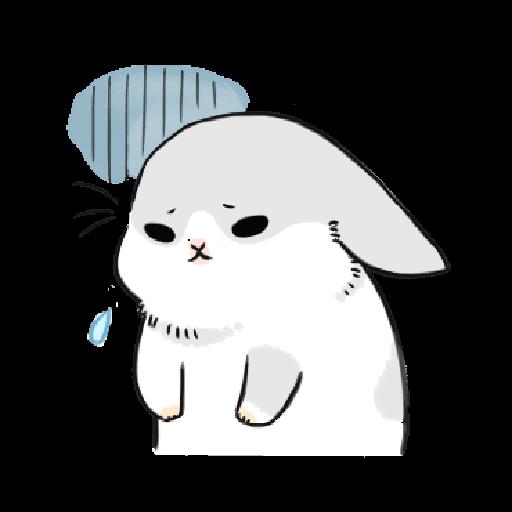 ㄇㄚˊ幾兔3 sad, sick, sorry 29 - Sticker 12