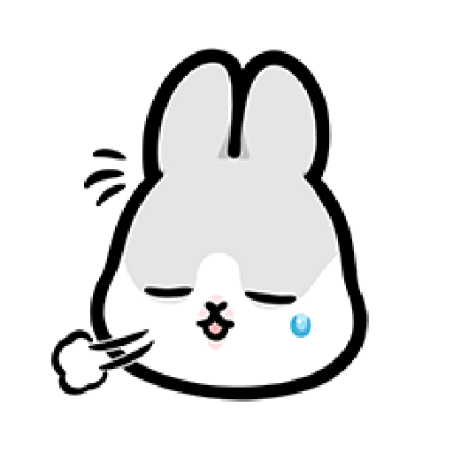 ㄇㄚˊ幾兔3 sad, sick, sorry 29 - Sticker 2