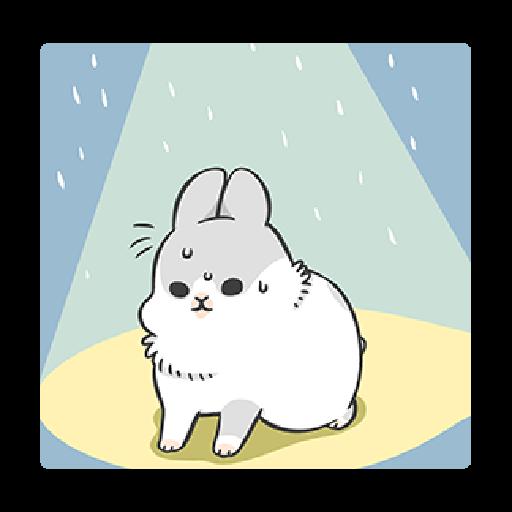 ㄇㄚˊ幾兔3 sad, sick, sorry 29 - Sticker 16