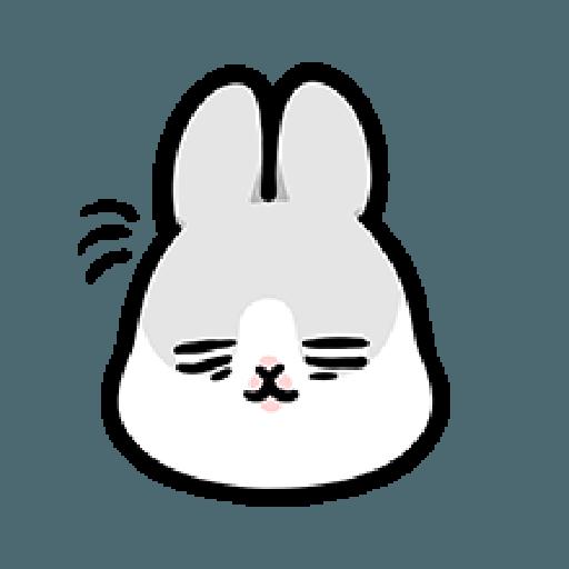 ㄇㄚˊ幾兔3 sad, sick, sorry 29 - Sticker 9