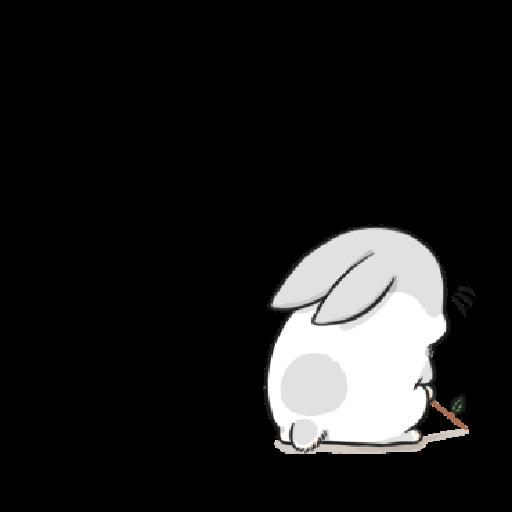 ㄇㄚˊ幾兔3 sad, sick, sorry 29 - Sticker 1