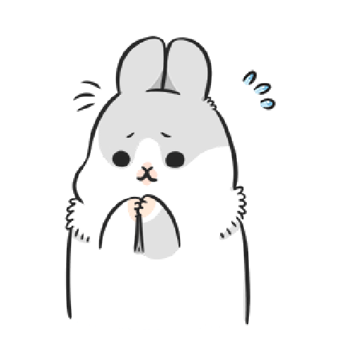ㄇㄚˊ幾兔3 sad, sick, sorry 29 - Sticker 21