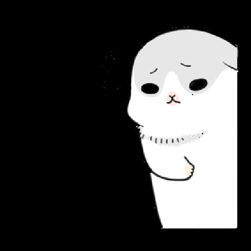 ㄇㄚˊ幾兔3 sad, sick, sorry 29 - Sticker 17