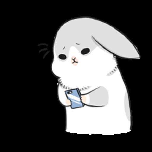 ㄇㄚˊ幾兔3 sad, sick, sorry 29 - Sticker 11