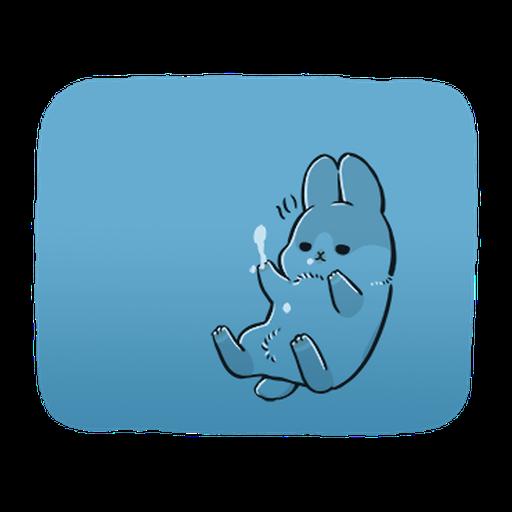 ㄇㄚˊ幾兔3 sad, sick, sorry 29 - Sticker 6
