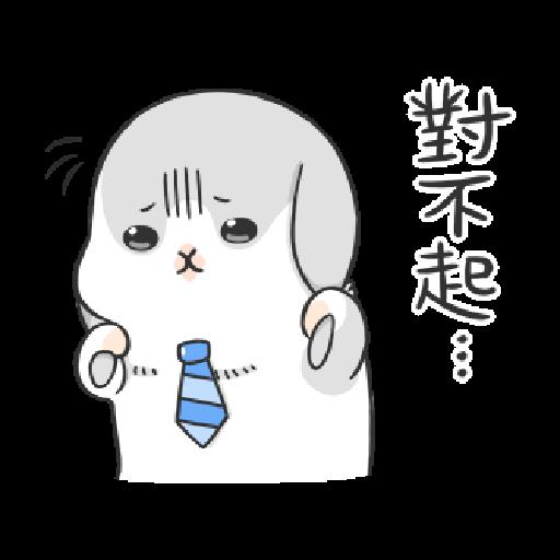 ㄇㄚˊ幾兔3 sad, sick, sorry 29 - Sticker 23