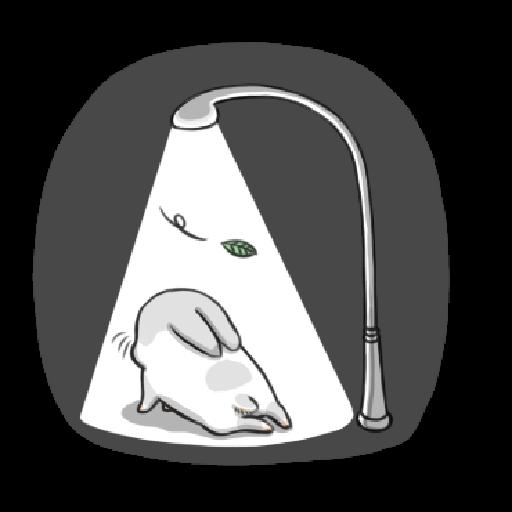 ㄇㄚˊ幾兔3 sad, sick, sorry 29 - Sticker 15