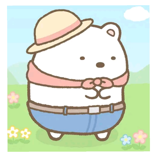 角落生物 白熊 - Sticker 4