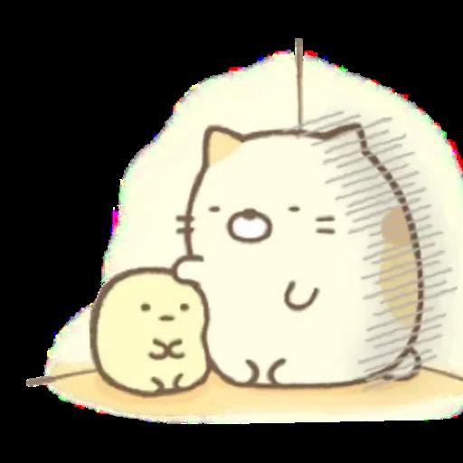 角落生物 白熊 - Sticker 2
