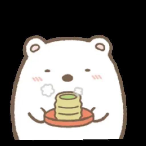 角落生物 白熊 - Sticker 8
