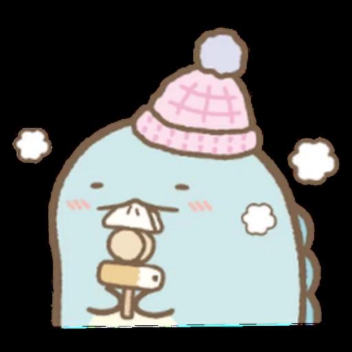 角落生物 白熊 - Sticker 9