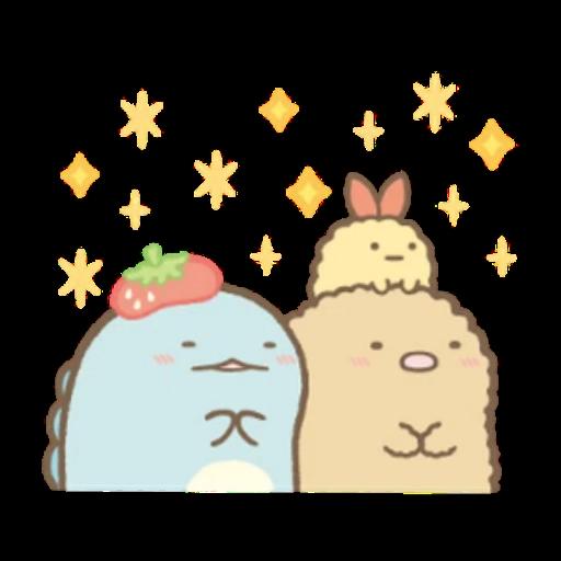 角落生物 白熊 - Sticker 5