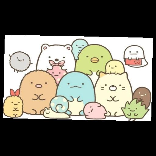 角落生物 白熊 - Sticker 11