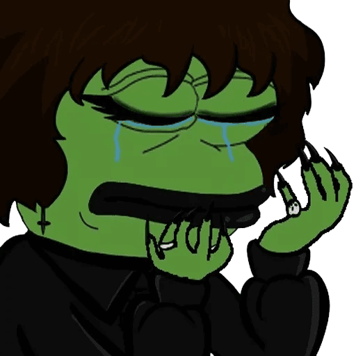 pepe stress - Sticker 5