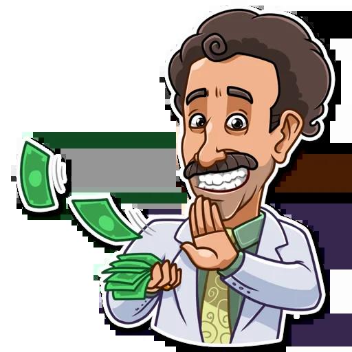 Borat - Sticker 22