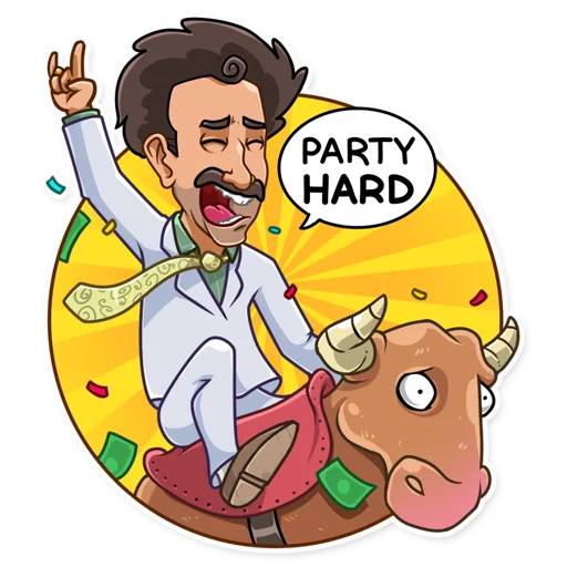 Borat - Sticker 23