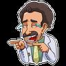 Borat - Tray Sticker