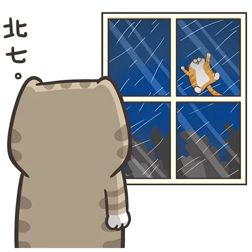 白爛貓6 - Sticker 1