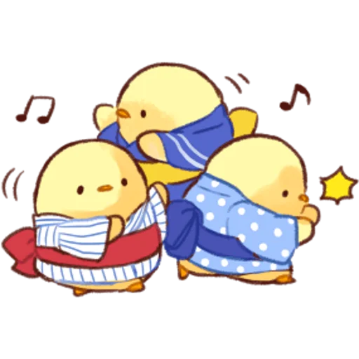 soft and cute chick 04 - Sticker 11