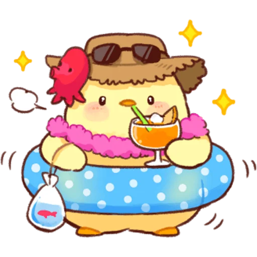 soft and cute chick 04 - Sticker 2