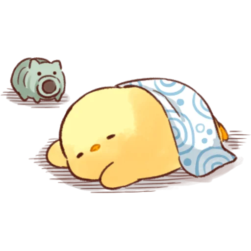 soft and cute chick 04 - Sticker 10