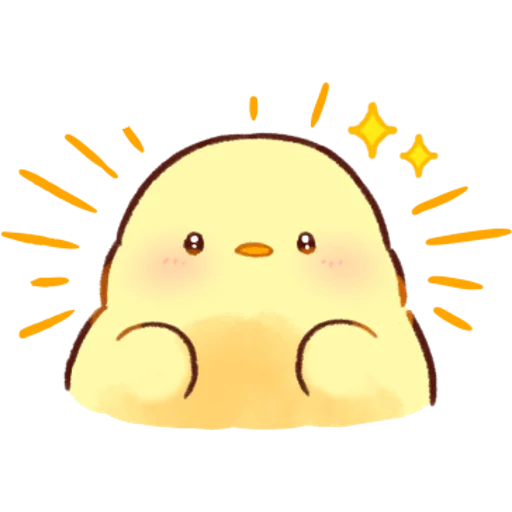 soft and cute chick 04 - Sticker 16
