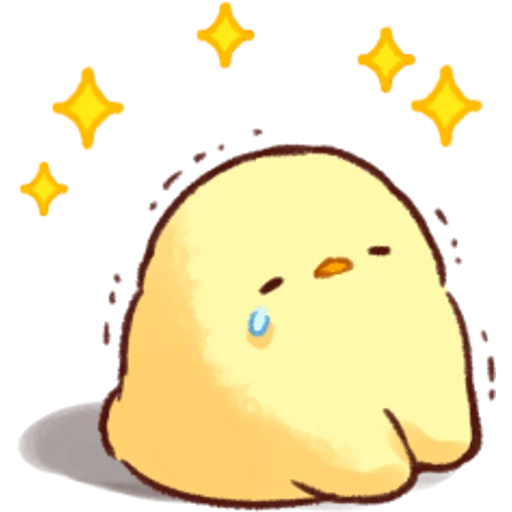 soft and cute chick 04 - Sticker 18