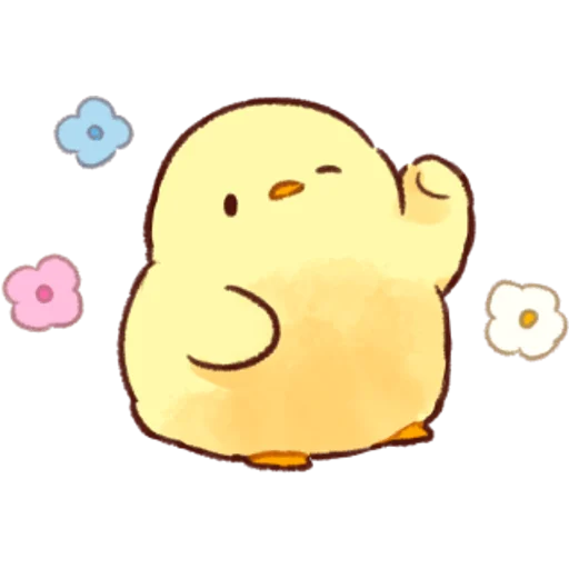 soft and cute chick 04 - Sticker 13