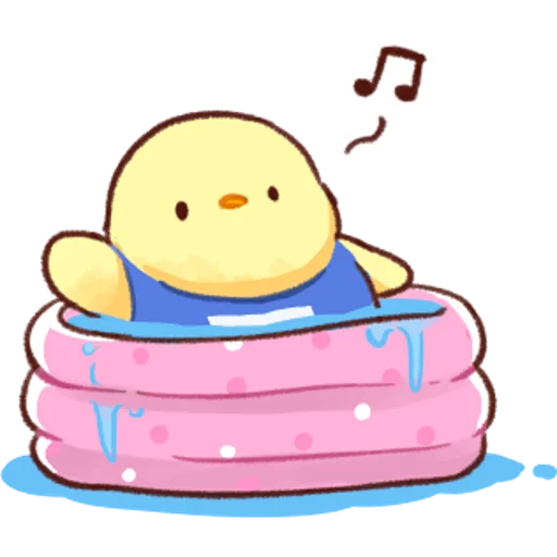soft and cute chick 04 - Sticker 28