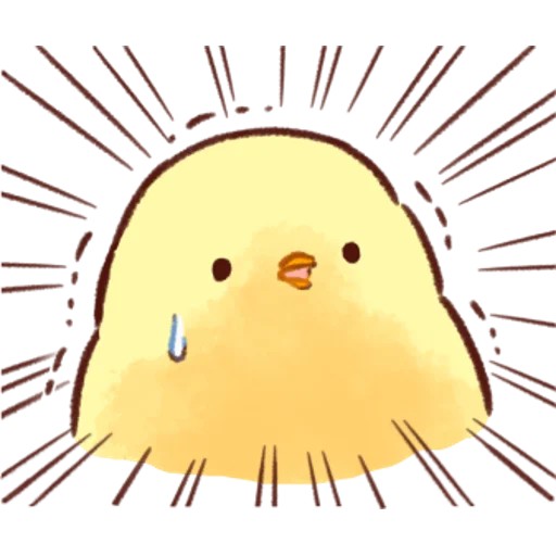 soft and cute chick 04 - Sticker 30